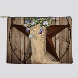 western country texas cowgirl Makeup Bag
