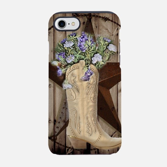 western country texas cowgir iPhone 8/7 Tough Case