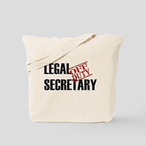 Off Duty Legal Secretary Tote Bag