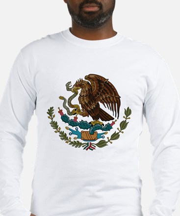 Mexican Coat of Arms Long Sleeve T-Shirt