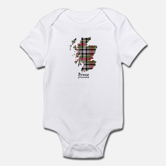 Map - Bruce of Kinnaird Infant Bodysuit