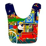 Saigon Travel and Tourism Print Polyester Baby Bib
