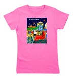 Saigon Travel and Tourism Print Girl's Tee