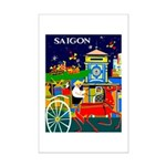 Saigon Travel and Tourism Print Poster Print