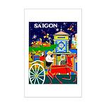 Saigon Travel and Tourism Print Poster Print