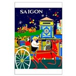 Saigon Travel and Tourism Print Poster