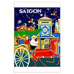 Saigon Travel and Tourism Print Poster