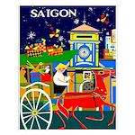 Saigon Travel and Tourism Print Small Poster