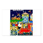 Saigon Travel and Tourism Print Postcards (Package