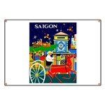 Saigon Travel and Tourism Print Banner