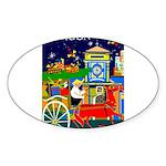 Saigon Travel and Tourism Print Sticker