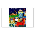 Saigon Travel and Tourism Print Sticker