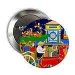 "Saigon Travel and Tourism Print 2.25"" Button (100"