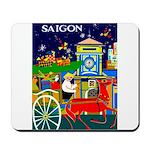 Saigon Travel and Tourism Print Mousepad