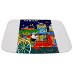 Saigon Travel and Tourism Print Bathmat