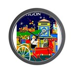Saigon Travel and Tourism Print Wall Clock