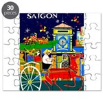 Saigon Travel and Tourism Print Puzzle