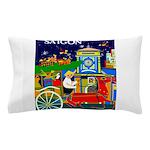 Saigon Travel and Tourism Print Pillow Case