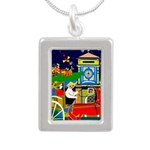 Saigon Travel and Tourism Print Necklaces