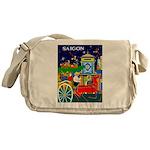 Saigon Travel and Tourism Print Messenger Bag