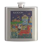 Saigon Travel and Tourism Print Flask