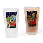 Saigon Travel and Tourism Print Drinking Glass