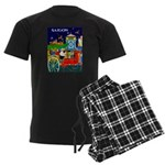 Saigon Travel and Tourism Print pajamas