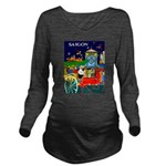 Saigon Travel and Tourism Print Long Sleeve Matern