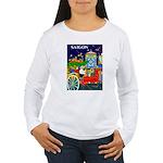 Saigon Travel and Tourism Print Long Sleeve T-Shir