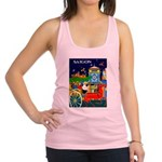 Saigon Travel and Tourism Print Racerback Tank Top