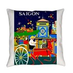 Saigon Travel And Tourism Print Everyday Pillow