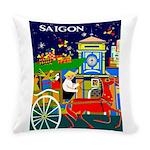 Saigon Travel And Tourism Print Everyday Pillow