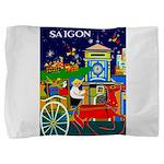 Saigon Travel And Tourism Print Pillow Sham