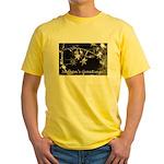 Season's Greetings - Stars Yellow T-Shirt