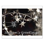 Season's Greetings - Stars Small Poster