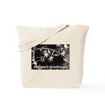 Season's Greetings - Stars Tote Bag