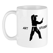 Art Student Coffee Cup