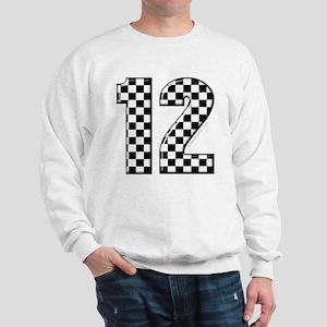 racing number 12 Sweatshirt