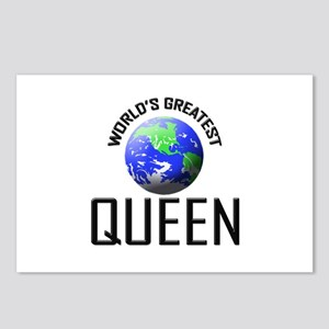 World's Greatest QUEEN Postcards (Package of 8)