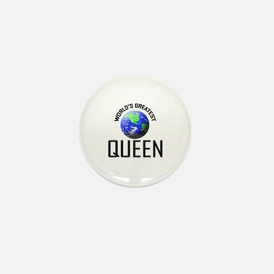 World's Greatest QUEEN Mini Button