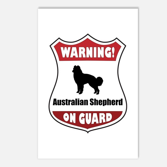 Aussie On Guard Postcards (Package of 8)