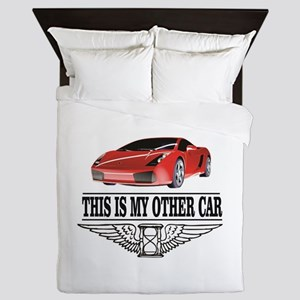 This is my other car Queen Duvet