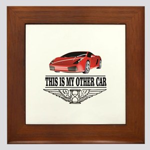 This is my other car Framed Tile