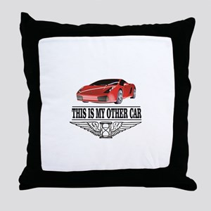 This is my other car Throw Pillow