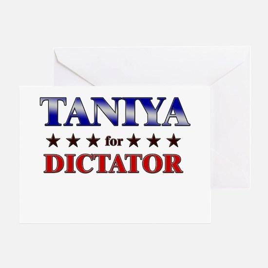 TANIYA for dictator Greeting Card