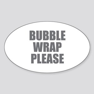 Bubble Wrap Please Sticker