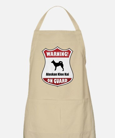Klee Kai On Guard BBQ Apron