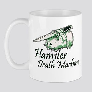 hamster death machine WEB Mugs