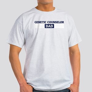 GENETIC COUNSELOR Dad Light T-Shirt