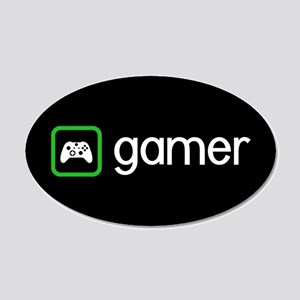 Gamer (Green) Wall Decal